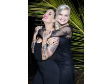 Sandra Lyng Haugen og Triana Iglesias på Paradise Hotel