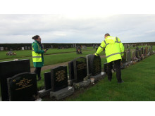 headstone inspection