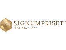 Signumpriset - logotyp liggande