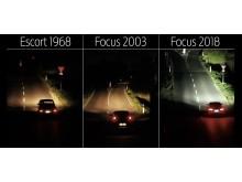 Neue Scheinwerfer-Technologie von Ford