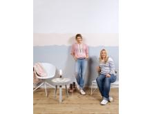 Målade hem – Anja & Filippa med Caparol Färg - Multicolor