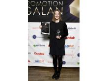 Vinnare Årets Miljökämpe - Rebecka Zetterström, New Wave Group