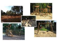 Exempel på tema för lekparken