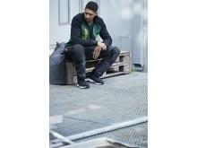 6251 AllroundWork, Stretch arbeidsbukse med løs passform og hylsterlommer