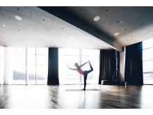 Yogasalen på Holiday Club Åre