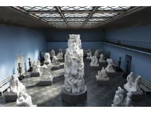 Monolitt-salen i Vigeland-museet