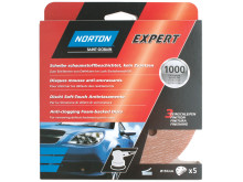 Norton Expert Auto - Product Foam backed discs