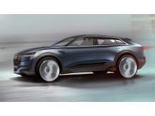 Audi e-tron quattro concept Exterior Sketch