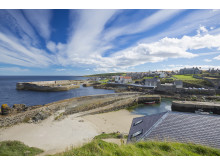 The harbour village of Portsoy, Aberdeenshire.