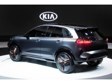 Kia Niro EV Concept rear side