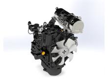 Image - Mastry Engine Center - The 3TNV88C-DYEM YANMAR Tier 4F engine adapted by Mastry Engine Center for Puckett Equipment's asphalt pavers