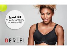 Berlei sport BH Electrify Sport BH - Serena Williams
