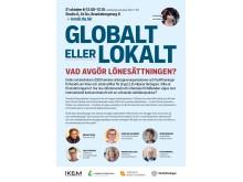 Globalt eller lokalt - Vad avgör lönesättningen?