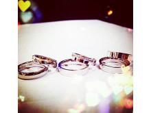 Duette forlovelsesringer