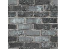 Illusion av tegel, tegeltapeter från Midbec