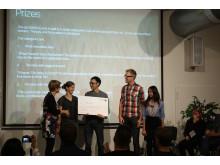 Hack för maten, vinnare Mest innovativa idé