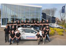 Sture Nilsson Bil AB i Hammenhög är Årets Peugeot-återförsäljare