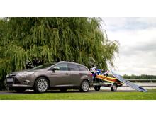 Elektrisk innfellbart tilhengerfeste har hatt stor etterspørsel etter at det ble lansert på nye Ford Focus