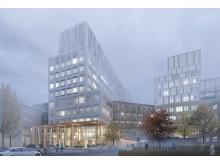 Nya Malmö sjukhus - Västra angöringen