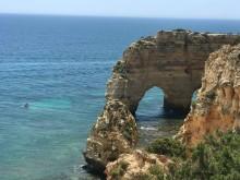 Klippstrand Algarve Portugal