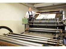 Blick in das Museum für Druckkunst Leipzig