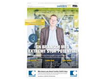 SwedenBIO ger ut bilaga i SvD m Mediaplanet Life Science - en bransch med extremt stor potential