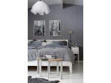 Eco Wallpaper Inred med känsla sovrum 1