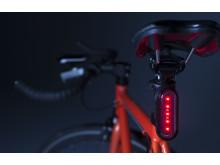 Lifestylephoto Varia Fahrradbeleuchtung
