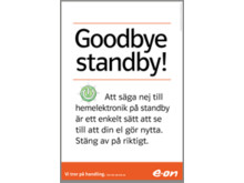 Annons Goodbye Standby
