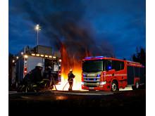 Scania Feuerwehrfahrzeug