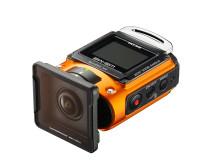 Ricoh WG-M2. orange med UV-skydd