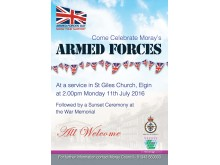 Armed Forces service poster