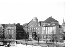 Historische Frontalaufnahme um 1916
