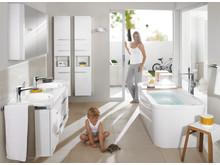 Undersökning visar hur svenskarna vill ha det i badrummet 2013