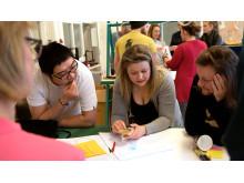 Designstudenter och sjukvårdspersonal skapar klimatsmarta innovationer tillsammans