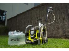 Friheden til at rengøre hvad som helst, hvor som helst. Batteridrevet 36V højtryksrenser