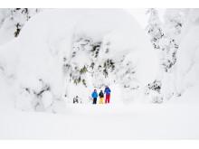 Massor med snö i Trysil Februari 2014