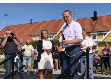 Invigning av kajen i Arboga