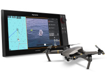 High res image - Raymarine - Axiom UAV transparent