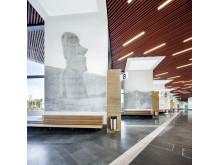 Faluns nya resecentrum och bussterminal utformat av arkitekter på Sweco. Foto: Tim Meier