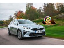 Kia Ceed Car of the Year finalist