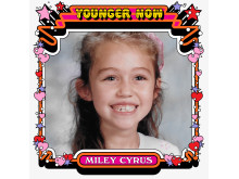 "Miley Cyrus - ""Younger Now"" singelomslag"