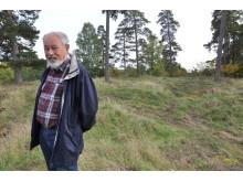 Mats Lejdeby på Stäkets borgruin