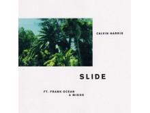 "Calvin Harris - ""Slide"" singelomslag"