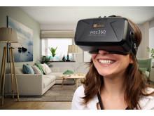 Nyskapande samarbete inom Virtual Reality för effektiv bostadsförsäljning  och trygga köp