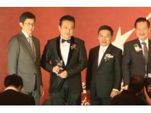 Evorich Flooring Group on Winning The Spirit of Enterprise Awards 2011