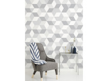Polygon Off White - Photowall