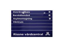 Infoskylt Vårdcentral