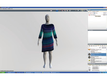 Epson 'Design to Garment' 3D garment simulation