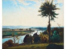 Carl Fredrik Hill, Trädet och flodkröken